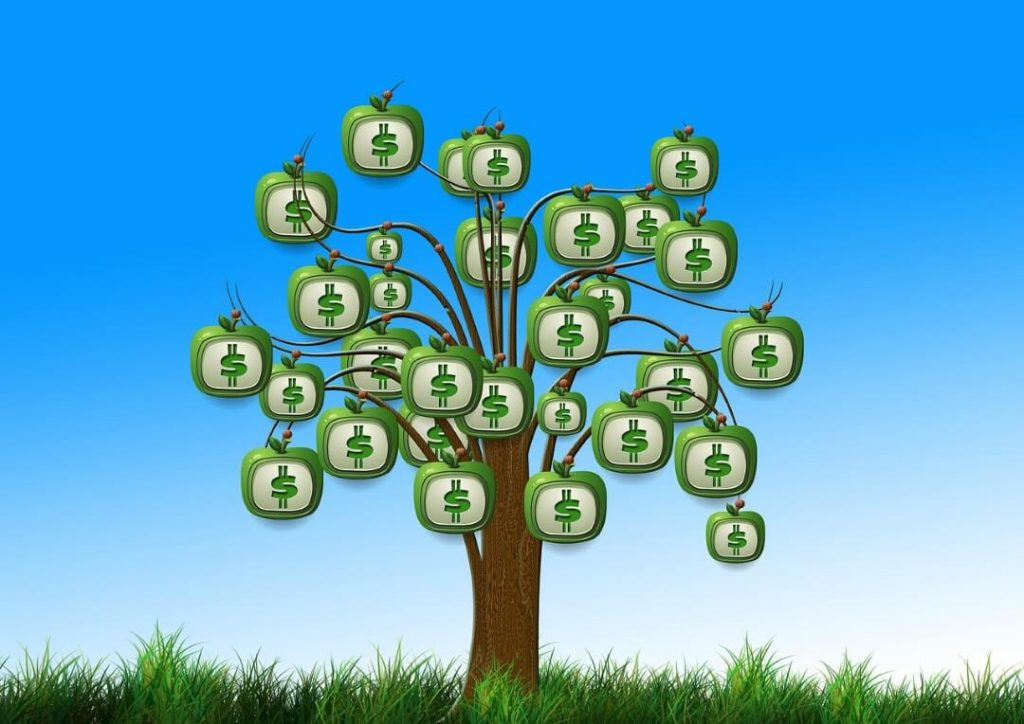 save money and the environment tree